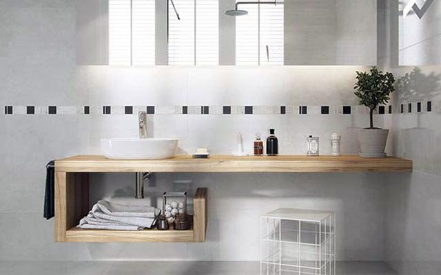 Những mẫu thiết kế phòng tắm cuốn hút mọi ánh nhìn - Ảnh 8.