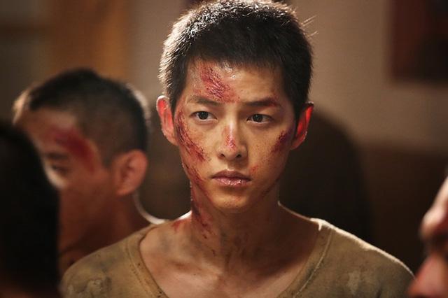 Fan bất ngờ với kiểu tóc mới của Song Joong Ki - Ảnh 1.
