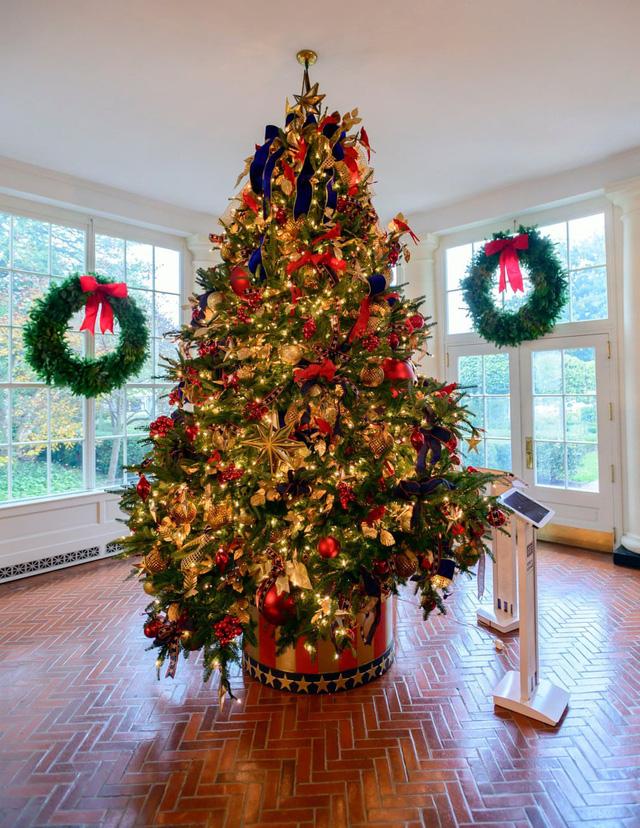 Khung cảnh Giáng sinh ở Nhà Trắng năm nay sẽ thế nào? - Ảnh 2.