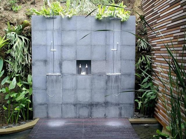 Những mẫu phòng tắm ngoài trời tuyệt đẹp - Ảnh 7.