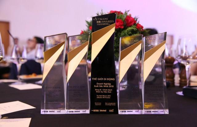Thế Giới Di Động giành chiến thắng cao nhất tại Vietnam HR Awards 2018 - Ảnh 2.