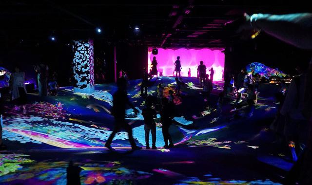 Lọt vào thế giới ảo tại bảo tàng kỹ thuật số Nhật Bản - Ảnh 2.