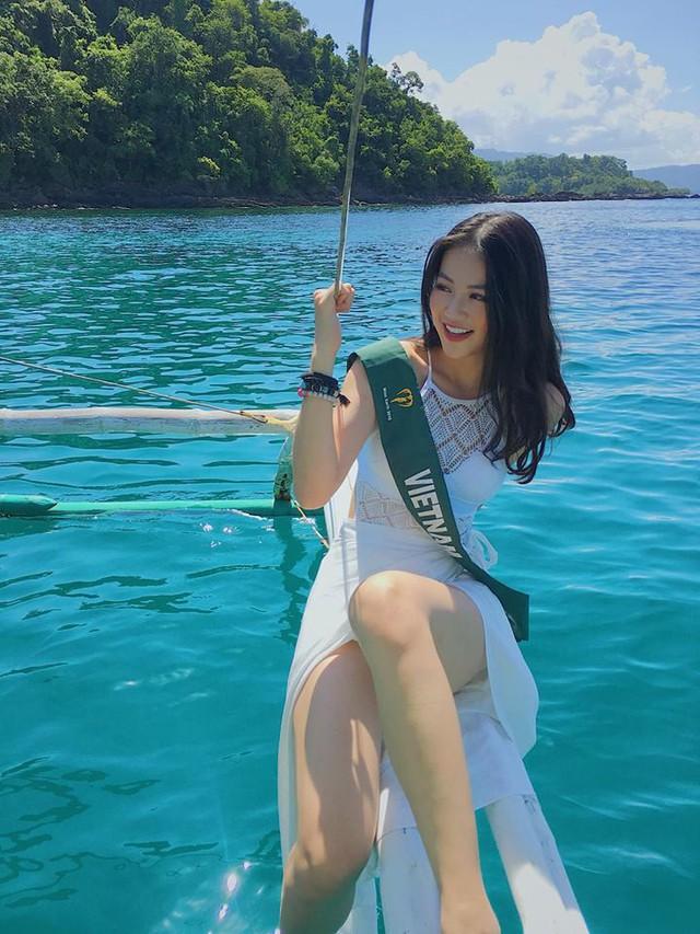 Hành trình đăng quang Hoa hậu Trái đất 2018 của Nguyễn Phương Khánh - Ảnh 4.