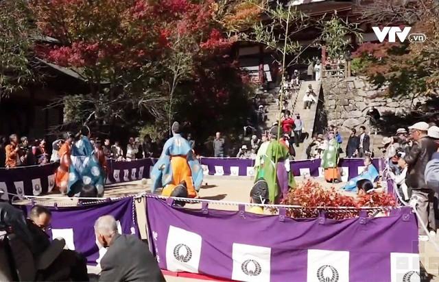 Sôi động lễ hội đá cầu tại Nara, Nhật Bản - Ảnh 2.