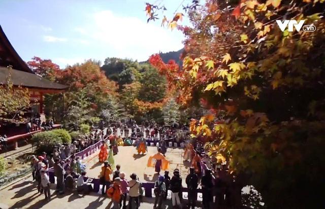 Sôi động lễ hội đá cầu tại Nara, Nhật Bản - Ảnh 1.