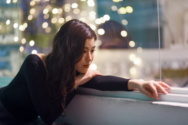 Cô gái triệu view Ngọc Ánh cover hit Những kẻ mộng mơ của Noo Phước Thịnh - Ảnh 3.