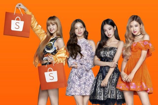 Nhóm nhạc BlackPink làm đại sứ thương hiệu cho Shopee - Ảnh 1.