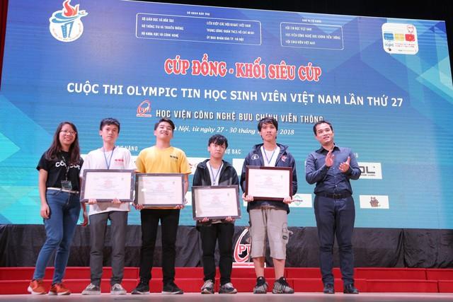 Đại học Bách khoa Hà Nội thắng lớn tại Olympic tin học sinh viên và ICPC châu Á 2018 - Ảnh 10.