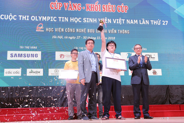 Đại học Bách khoa Hà Nội thắng lớn tại Olympic tin học sinh viên và ICPC châu Á 2018 - Ảnh 13.