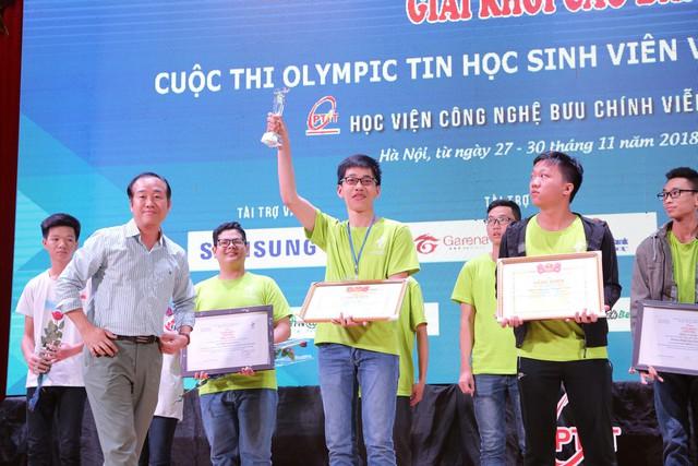 Đại học Bách khoa Hà Nội thắng lớn tại Olympic tin học sinh viên và ICPC châu Á 2018 - Ảnh 2.