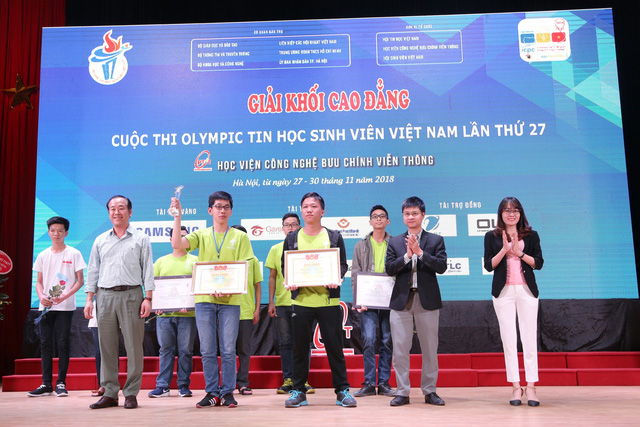 Đại học Bách khoa Hà Nội thắng lớn tại Olympic tin học sinh viên và ICPC châu Á 2018 - Ảnh 3.