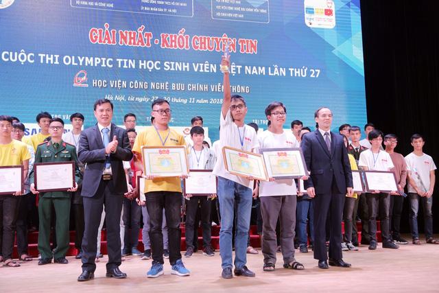 Đại học Bách khoa Hà Nội thắng lớn tại Olympic tin học sinh viên và ICPC châu Á 2018 - Ảnh 9.