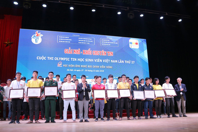 Đại học Bách khoa Hà Nội thắng lớn tại Olympic tin học sinh viên và ICPC châu Á 2018 - Ảnh 8.