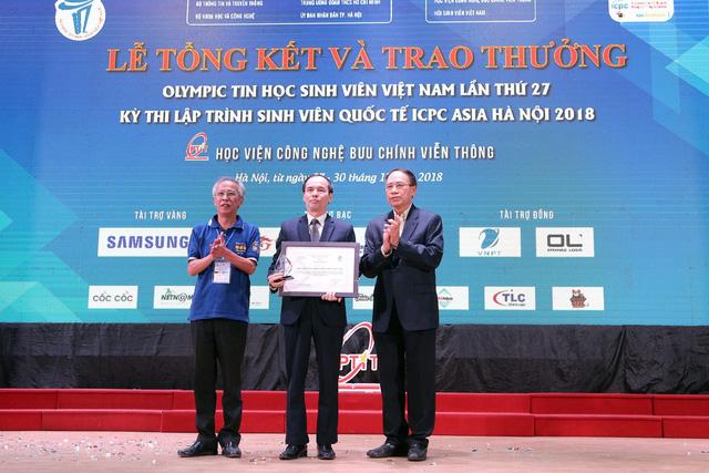 Đại học Bách khoa Hà Nội thắng lớn tại Olympic tin học sinh viên và ICPC châu Á 2018 - Ảnh 14.