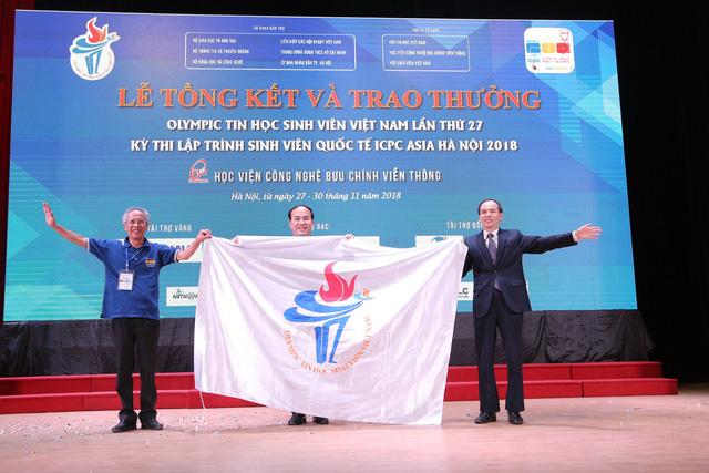 Đại học Bách khoa Hà Nội thắng lớn tại Olympic tin học sinh viên và ICPC châu Á 2018 - Ảnh 16.
