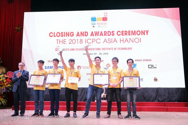 Đại học Bách khoa Hà Nội thắng lớn tại Olympic tin học sinh viên và ICPC châu Á 2018 - Ảnh 23.