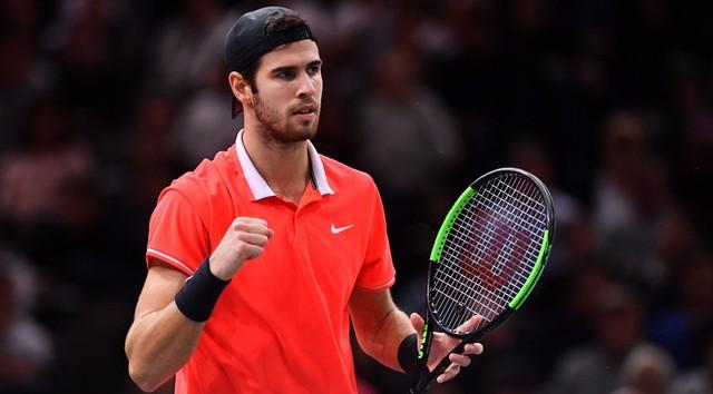 Thắng kịch tính Federer, Djokovic vào chung kết Paris Masters 2018 - Ảnh 3.