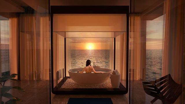 Choáng hợp với biệt thự dưới đáy biển đầu tiên tại Maldives - ảnh 5