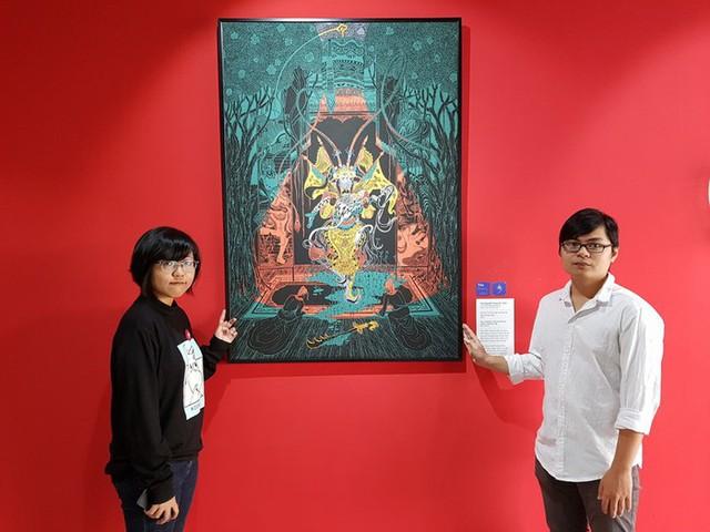 Vẽ về Hát Bội, dự án kết nối giữa hai thế hệ nghệ thuật - Ảnh 2.