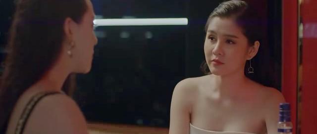 Yêu thì ghét thôi - Tập 19: Phát điên vì chồng, Kim rủ sếp Nhật Anh đi nhậu say bí tỉ - Ảnh 5.