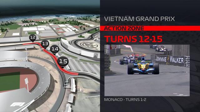 Nét đặc biệt của đường đua F1 tại Việt Nam - Ảnh 2.