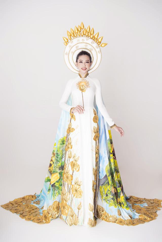 Thuỳ Tiên hé lộ trang phục truyền thống khi vừa lọt Top 8 Miss International - Ảnh 2.