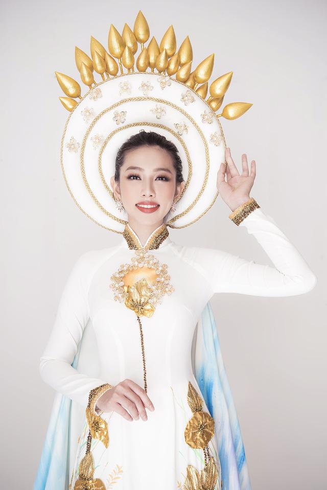 Thuỳ Tiên hé lộ trang phục truyền thống khi vừa lọt Top 8 Miss International - Ảnh 3.