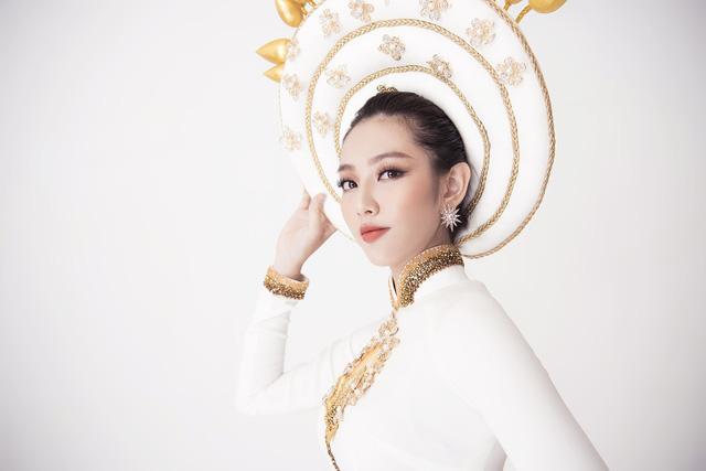 Thuỳ Tiên hé lộ trang phục truyền thống khi vừa lọt Top 8 Miss International - Ảnh 5.