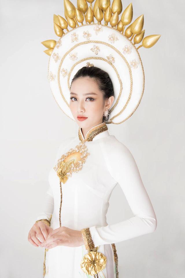 Thuỳ Tiên hé lộ trang phục truyền thống khi vừa lọt Top 8 Miss International - Ảnh 6.