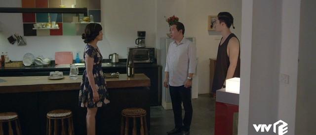 Yêu thì ghét thôi - Tập 19: Phát điên vì chồng, Kim rủ sếp Nhật Anh đi nhậu say bí tỉ - Ảnh 12.