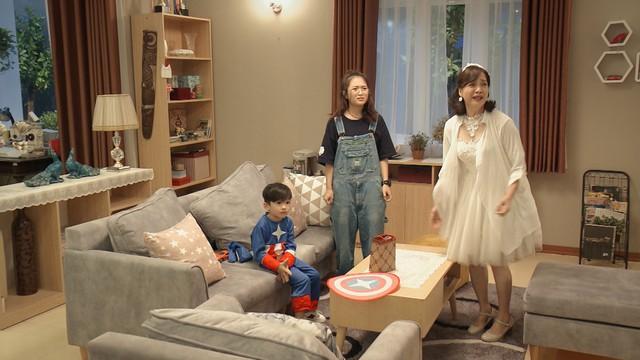 Mẹ ơi, bố đâu rồi? - Tập 4: Ăn mặc thiếu vải, Ly (Quỳnh Kool) bị bố mẹ cấm túc ở nhà - ảnh 12