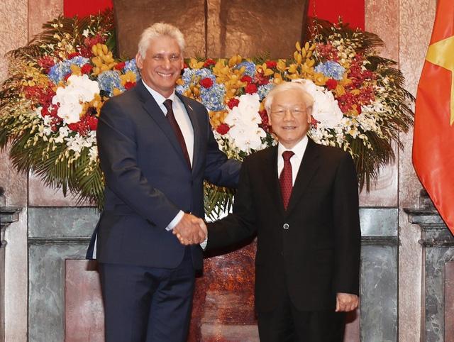 """""""Việt Nam coi trọng và mong muốn làm sâu sắc hơn quan hệ với Cuba"""" - Ảnh 1."""