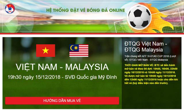16h00 hôm nay (20/12), bán vé online trận ĐT Việt Nam - ĐT CHDCND Triều Tiên - Ảnh 1.