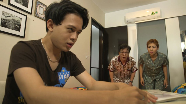 Gia đình 4.0: Thanh Hương ép con trai học tới khủng hoảng - Ảnh 3.