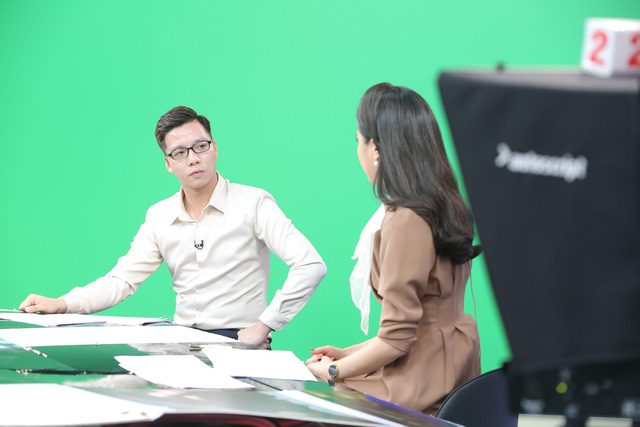 """Dàn MC xinh đẹp trong buổi quay thử chương trình mới """"Việt Nam hôm nay"""" - Ảnh 5."""