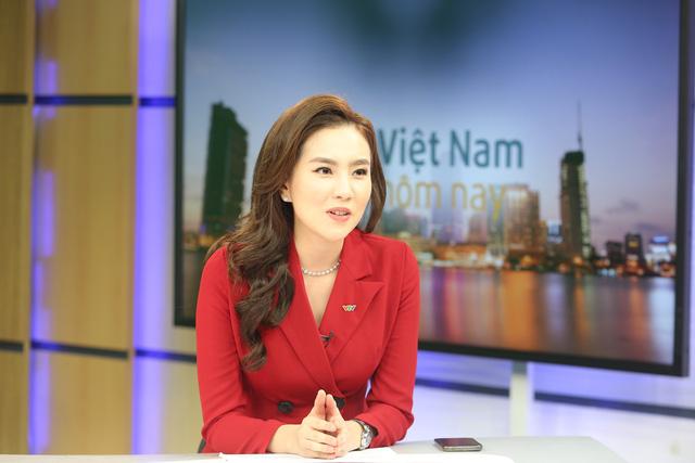 """Dàn MC xinh đẹp trong buổi quay thử chương trình mới """"Việt Nam hôm nay"""" - Ảnh 8."""