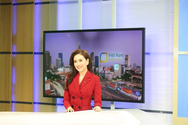 """Dàn MC xinh đẹp trong buổi quay thử chương trình mới """"Việt Nam hôm nay"""" - Ảnh 7."""