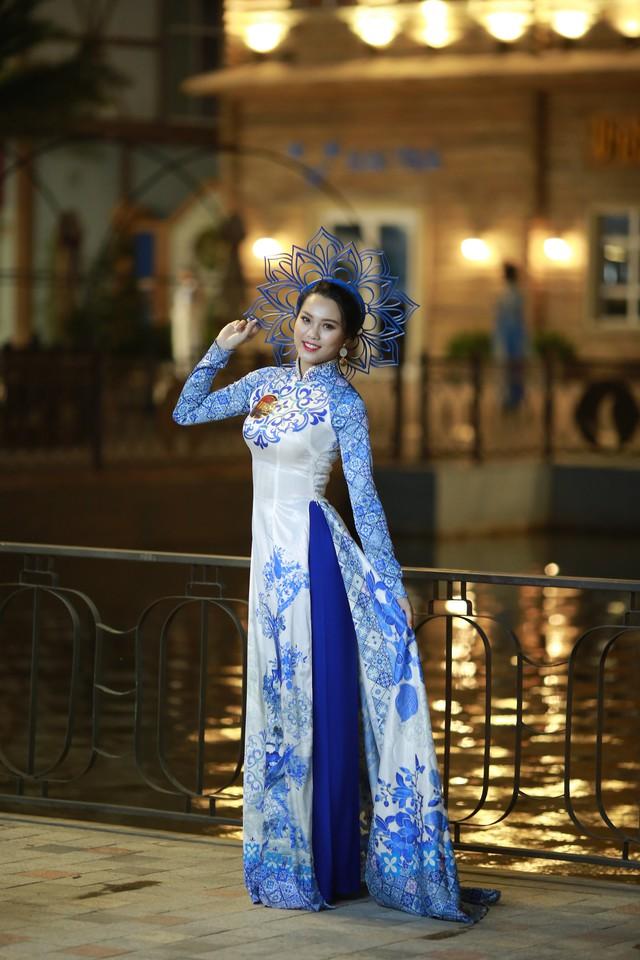 Ngắm dàn thí sinh Hoa khôi Sinh viên dịu dàng giữa phố cổ Hội An - Ảnh 7.