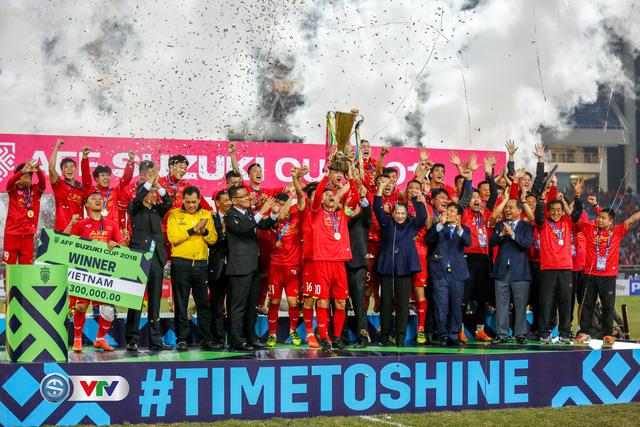 HLV Park Hang Seo: Vô địch AFF Cup 2018 là khoảnh khắc tuyệt vời trong sự nghiệp của tôi - Ảnh 1.
