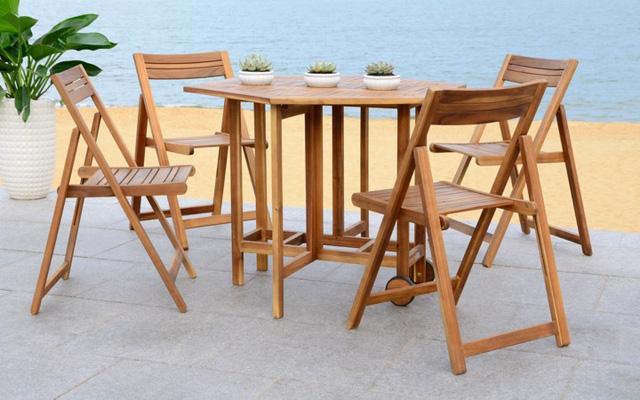 Bàn ghế ăn dành cho khu vực sân vườn - Ảnh 3.