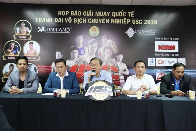 7 võ sĩ Việt sẽ góp mặt tại Giải muay quốc tế - Tranh đai Vô địch USC - Ảnh 1.
