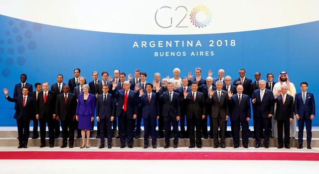 Hội nghị thượng đỉnh G20: Những cái bắt tay hay sự lạnh nhạt, ngó lơ? - Ảnh 1.