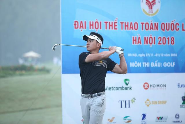 Chủ nhà Hà Nội giành trọn 4 HCV  môn Golf tại Đại hội TTTQ 2018 - Ảnh 1.
