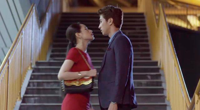 Chi Pu hôn Bình An trong phim mới Mối tình đầu của tôi - Ảnh 3.