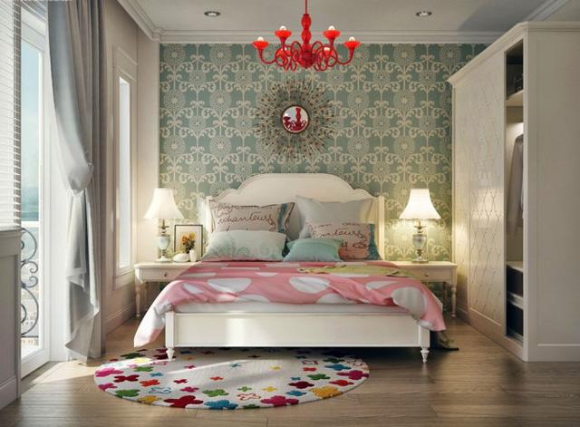 Phòng ngủ tuyệt đẹp dành cho bạn trẻ - Ảnh 1.