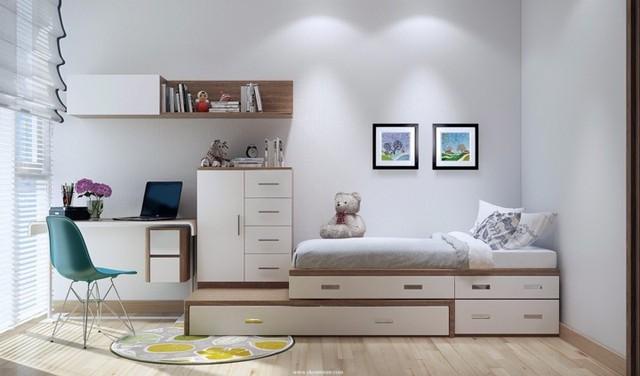Phòng ngủ tuyệt đẹp dành cho bạn trẻ - Ảnh 8.