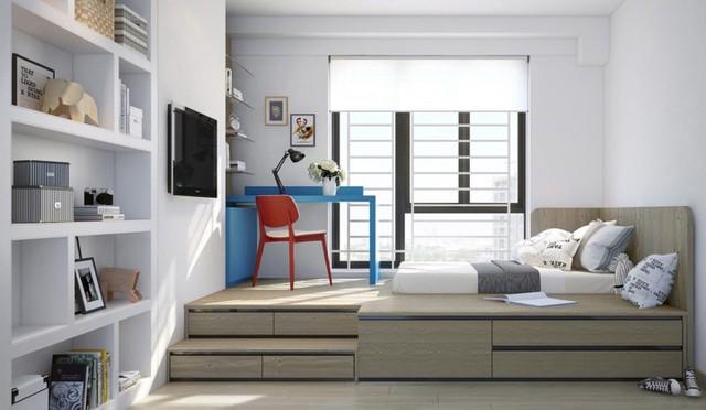 Phòng ngủ tuyệt đẹp dành cho bạn trẻ - Ảnh 9.
