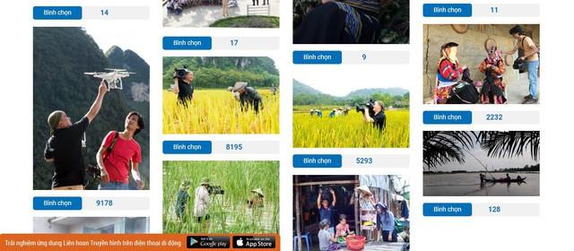 Những bức ảnh nghìn like tại cuộc thi ảnh Những người làm truyền hình - Ảnh 1.