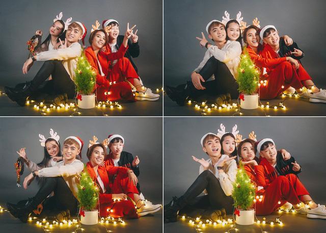Ngắm bộ ảnh đón Giáng sinh cực dễ thương của Sơn - Tường cùng học trò - Ảnh 6.
