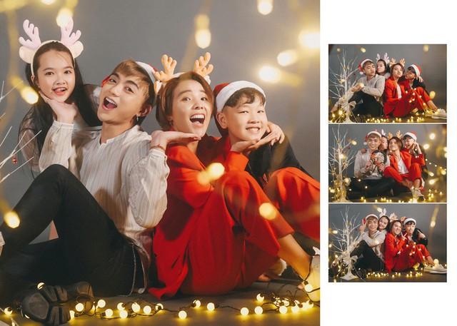 Ngắm bộ ảnh đón Giáng sinh cực dễ thương của Sơn - Tường cùng học trò - Ảnh 5.